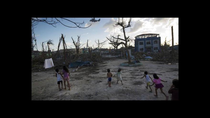 Video Reportáž o situaci na Filipínách