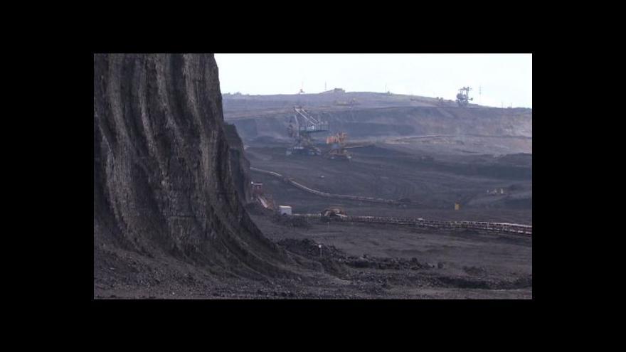 Video U Horního Jiřetína hlubinná těžba povolena