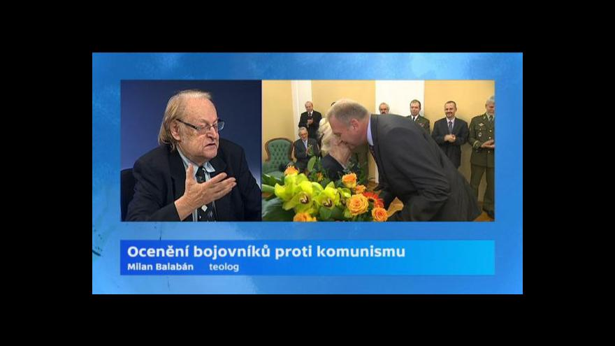 Video Rozhovor s Milanem Balabánem