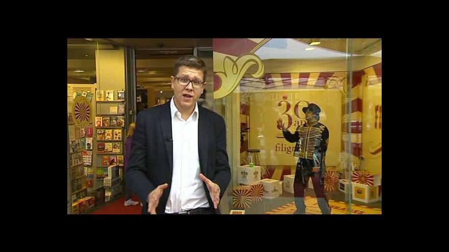 Video Bohumil Vostal o knihkupectví Filigranes