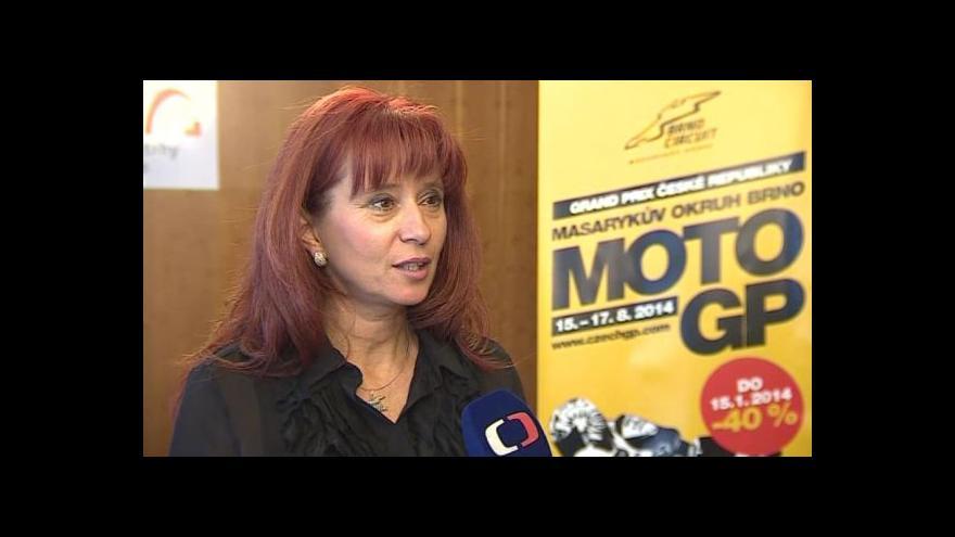 Video Hovoří ředitelka Automotodromu Brno Ivana Ulmanová
