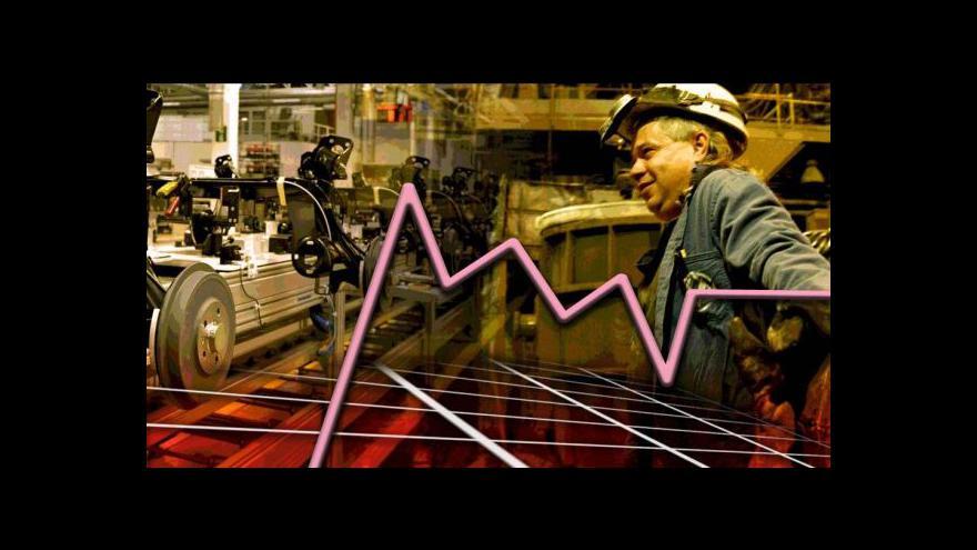 Video Zprávy ve 12:00 o vývoji HDP