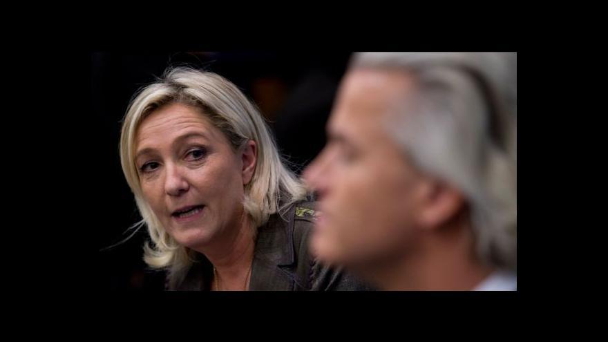 Video Horizont Petra Zavadila k Le Penové a Wildersovi