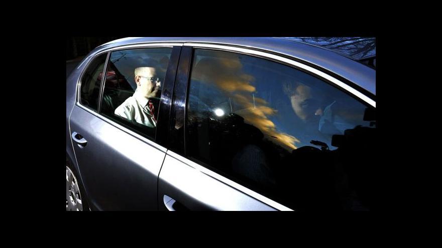Video Bohuslav Sobotka po přijetí u prezidenta
