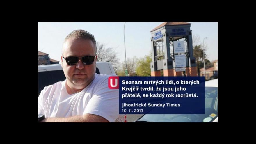Video Události o případu Radovana Krejčíře