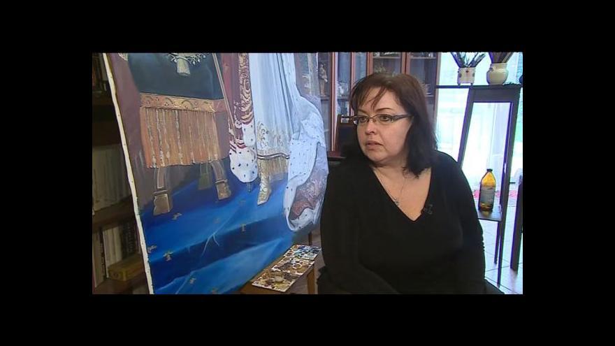 Video O obraze hovoří restaurátorka Monika Hadová