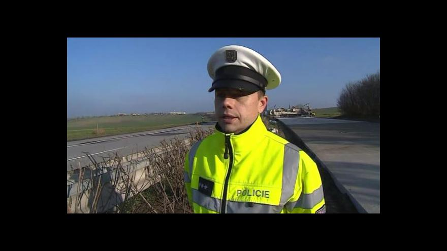 Video O nehodách hovoří dálniční policista Bohumil Dvořák