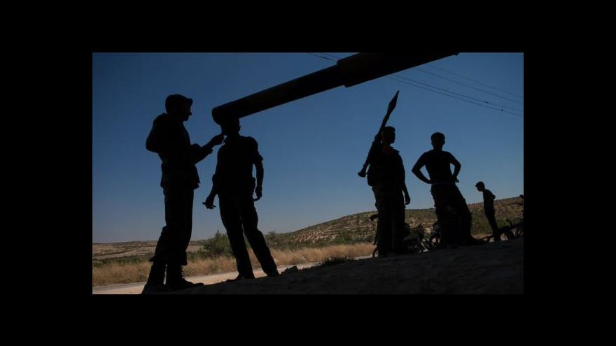 Video Exkluzivní záběry CNN o situaci v Sýrii