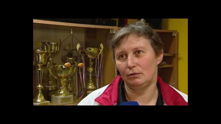 Video Legenda českého stolního tenisu Marie Hrachová slaví padesátiny