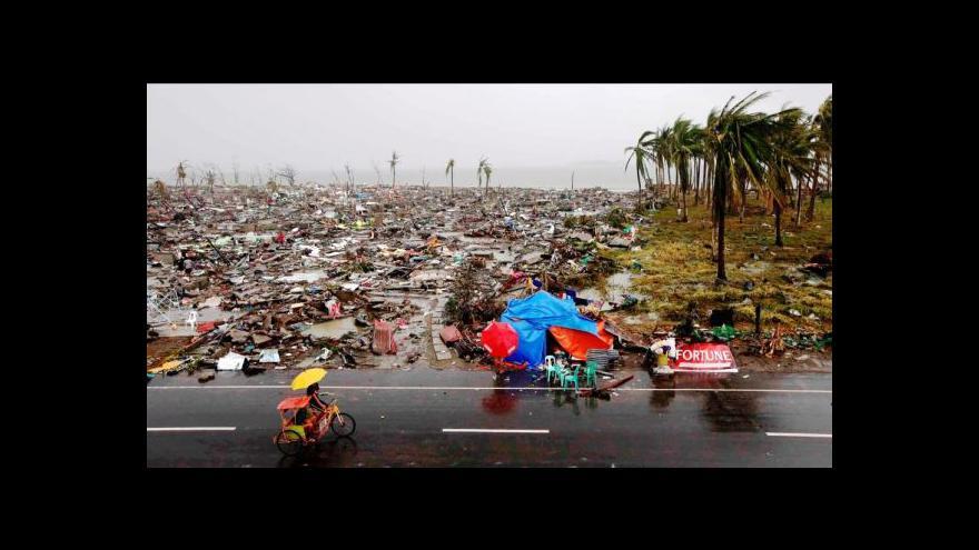 Video Události o chaosu na Filipínách