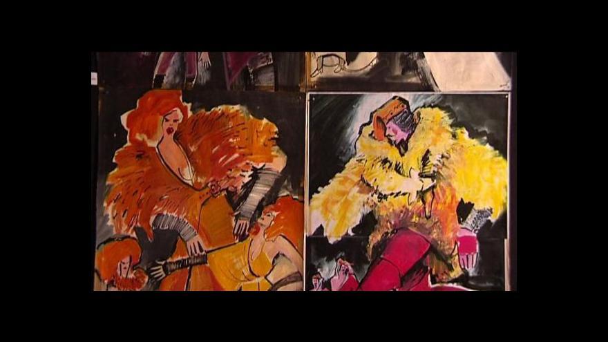 Video Ostravské muzeum připomíná tvorbu Marty Roszkopfové