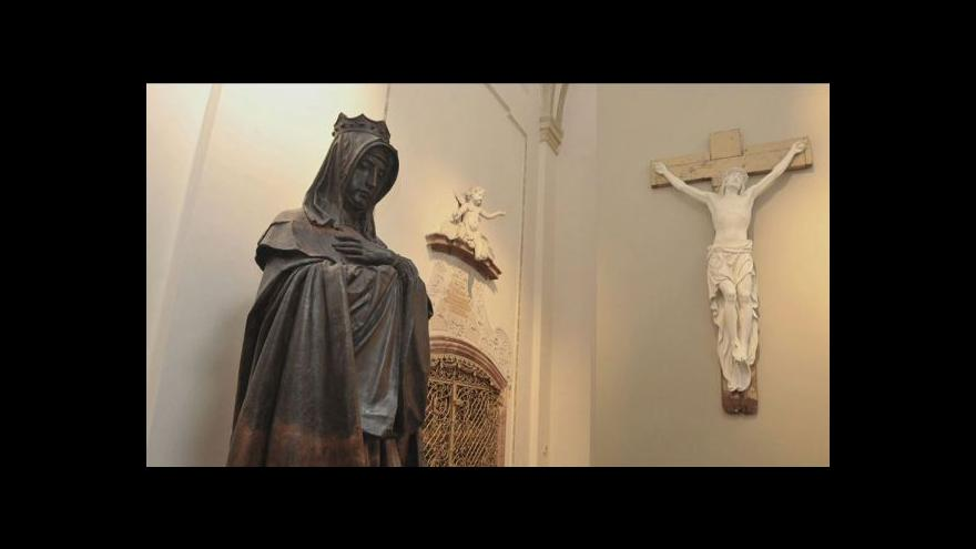 Video Události ČT o kanonizaci sv. Anežky