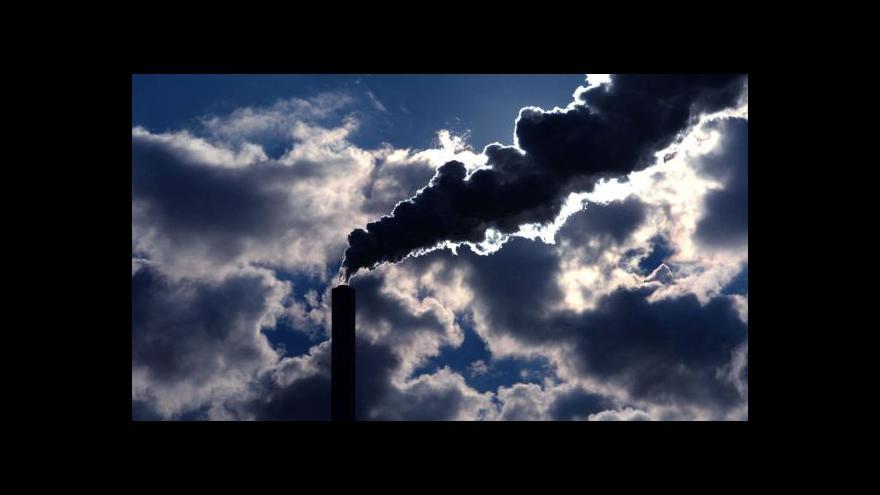 Video Vstup Gabriely Sluštíkové ke znečištěnému ovzduší