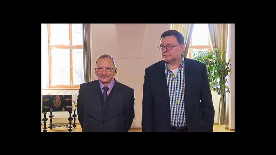 Video Rozhovor se Zbyňkem Stanjurou a Jaroslavem Kuberou