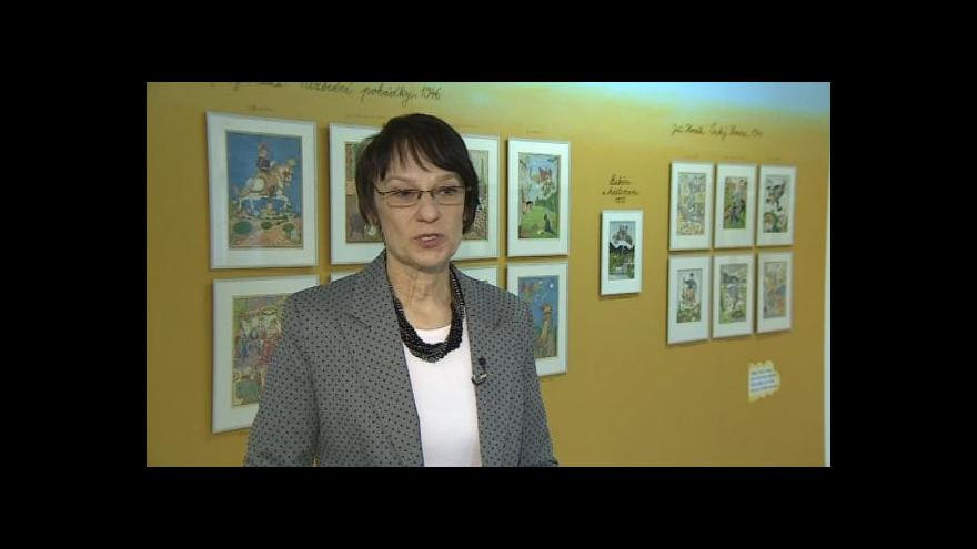 Video O výstavě Josefa Lady hovoří kurátorka Jana Svobodová