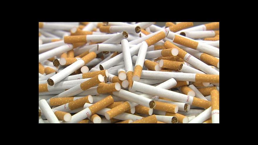 Video Podvody s tabákem v Událostech ČT