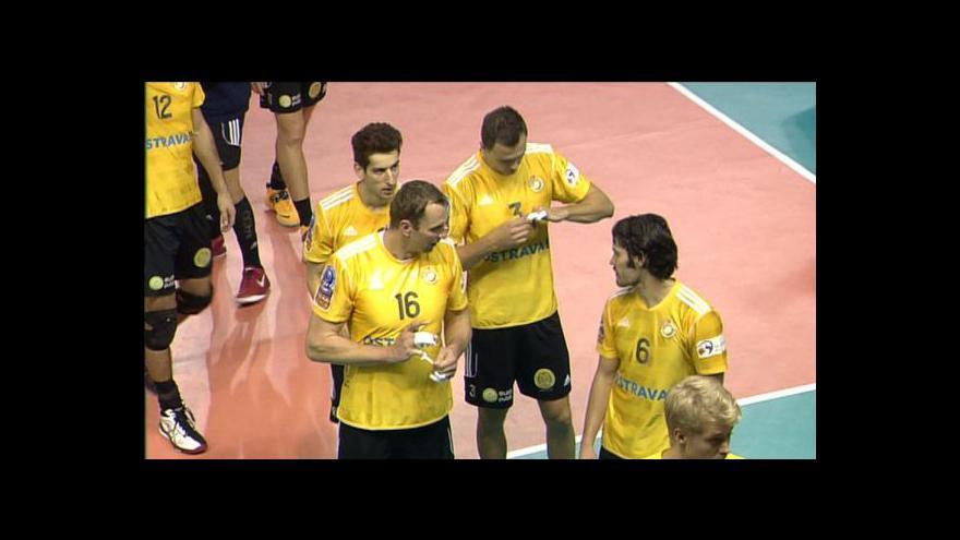 Video Sestřih volejbalového utkání Příbram - Ostrava