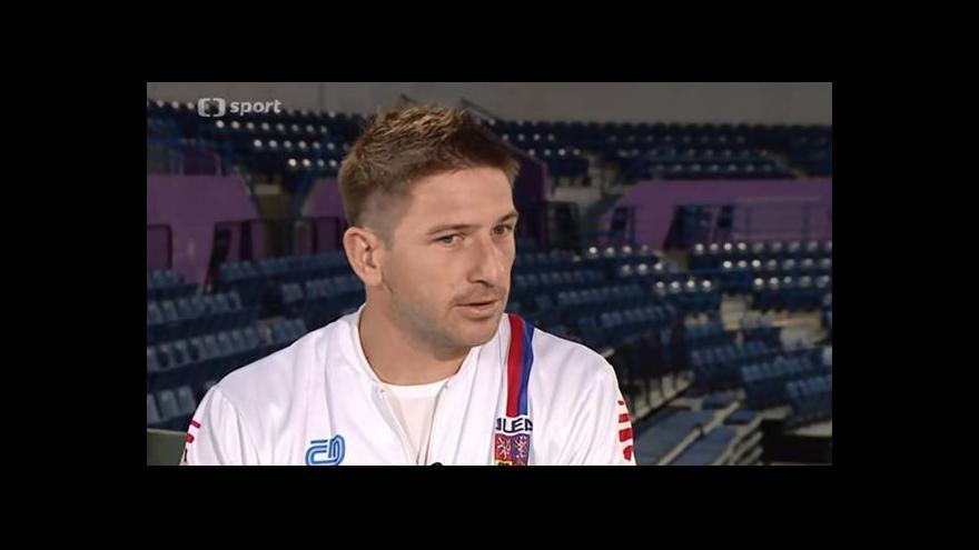 Video Rozhovor s Janem Hájkem před finále Davis Cupu