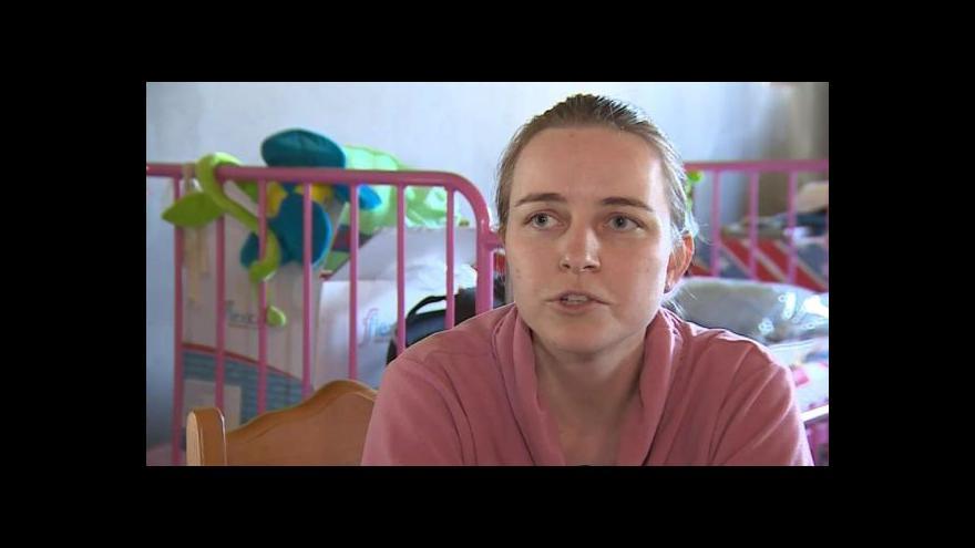 Video O nemoci hovoří Alena Kališová, máma devítileté Sáry