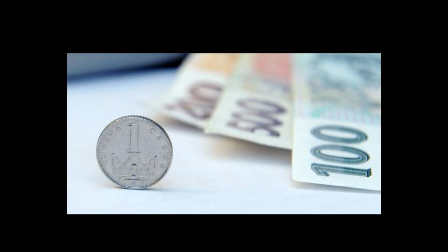 Video Devizové intervence tématem Ekonomiky ČT24