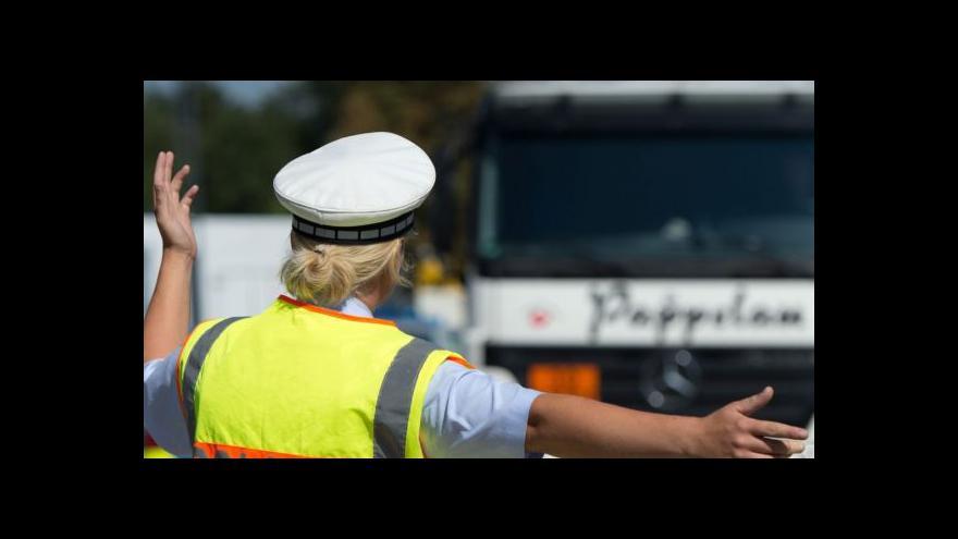 Video Dálniční policie na D3
