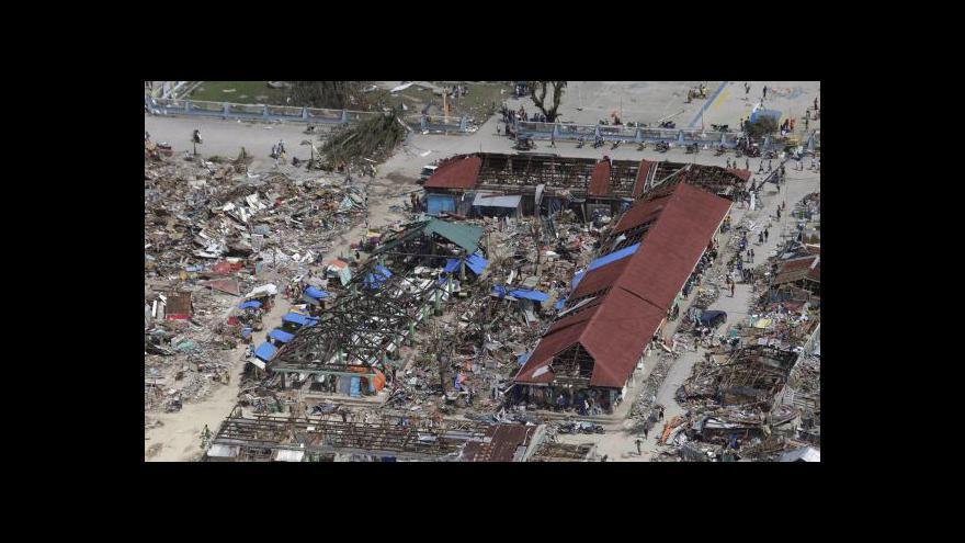 Video Filipíny se vzpamatovávají z úderu tajfunu Haiyan