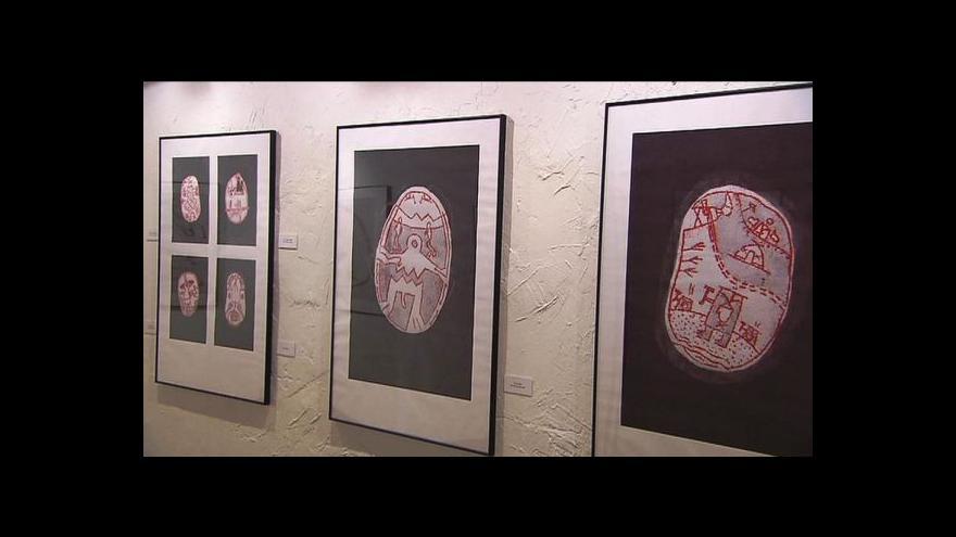 Video Výstava ilustrací inuitských mýtů