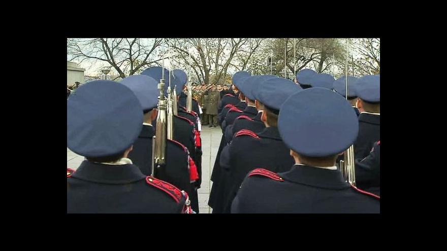 Video Přenos z pietního aktu ke Dni válečných veteránů