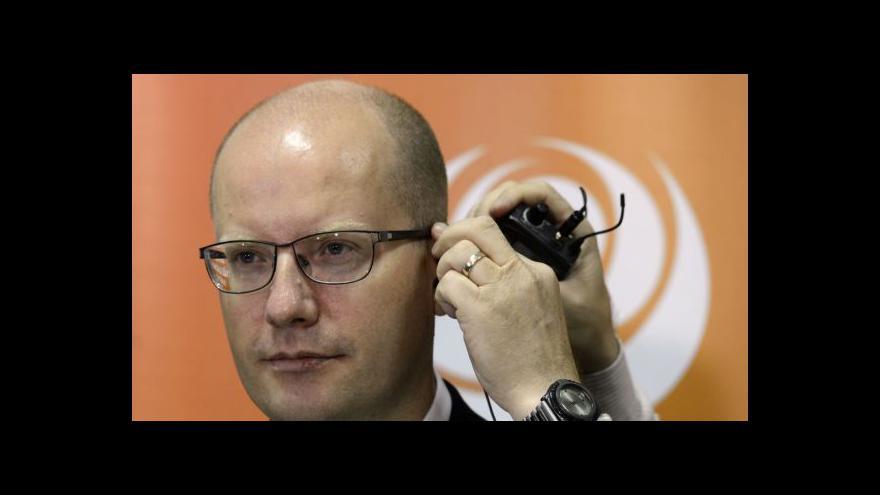 Video Události o jednání ČSSD
