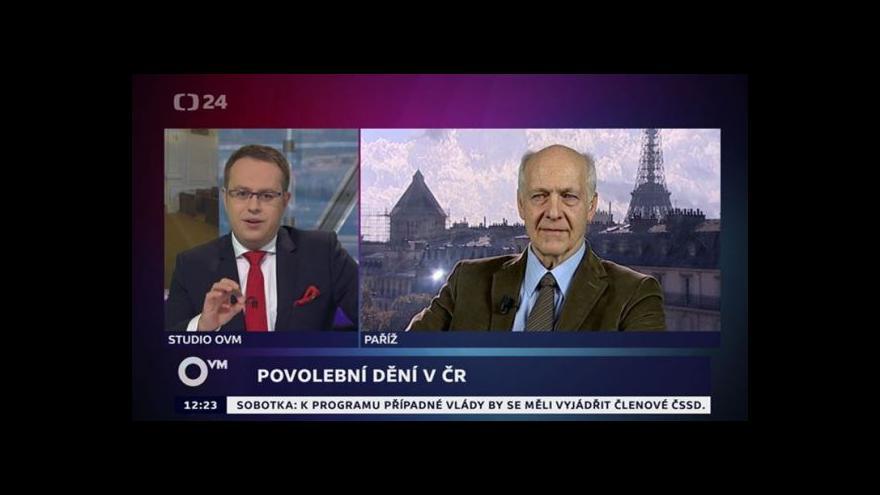 Video Rozhovor s Jacquesem Rupnikem a Jaromírem Volkem pro OVM
