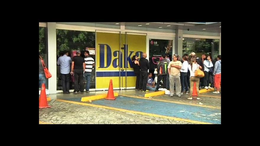 Video Maduro obsadil obchody s elektronikou