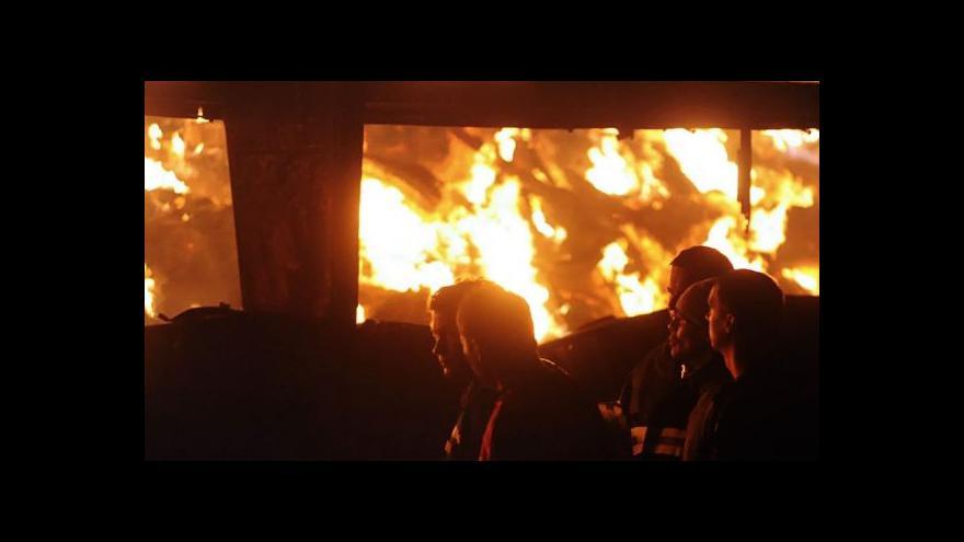 Video Telefonát Gabriely Sluštíkové k požárům