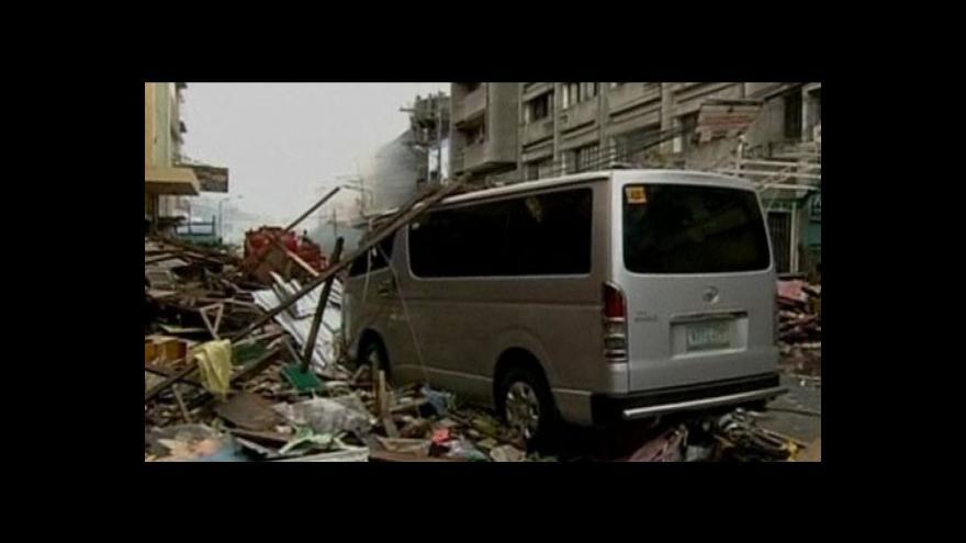 Video Události o řádění tajfunu Haiyan