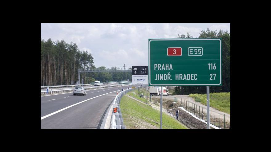 Video Resort dopravy nevyčerpá 14 miliard na prodloužení dálnic