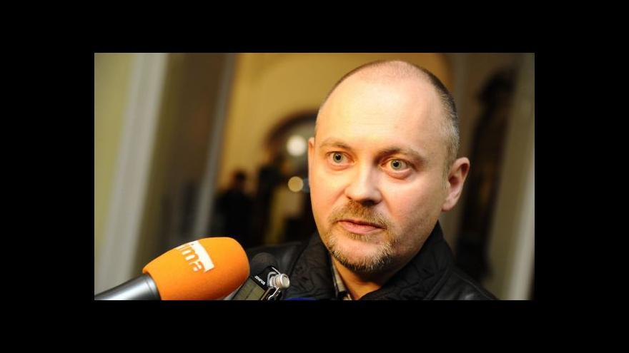 Video Téma krize v ČSSD v UvR