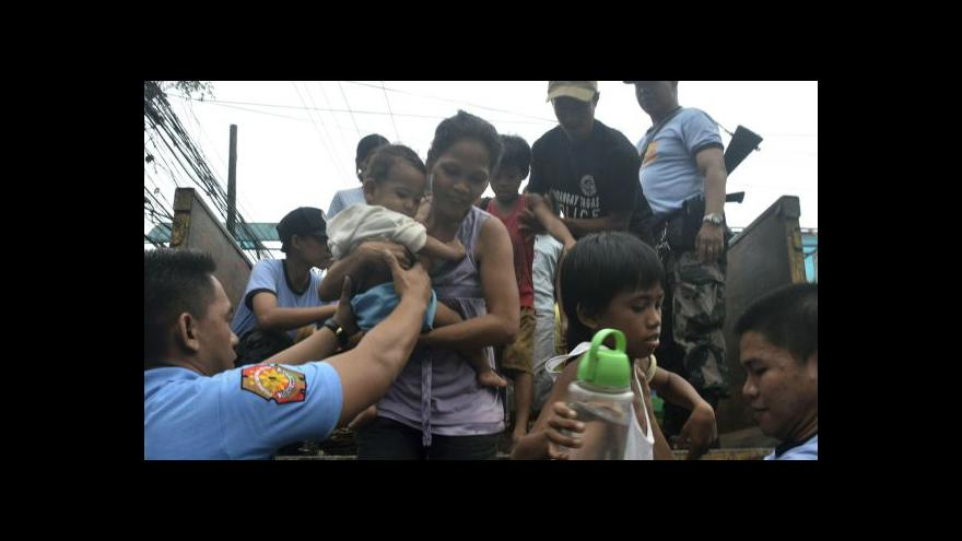 Video Supertajfun Haiyan pustošil Filipíny