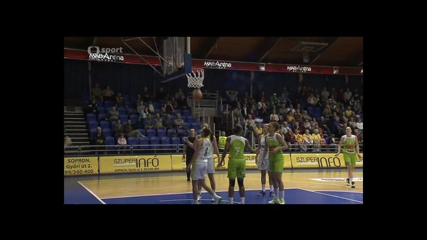 Video Sestřih basketbalového utkání Šoproň - Brno