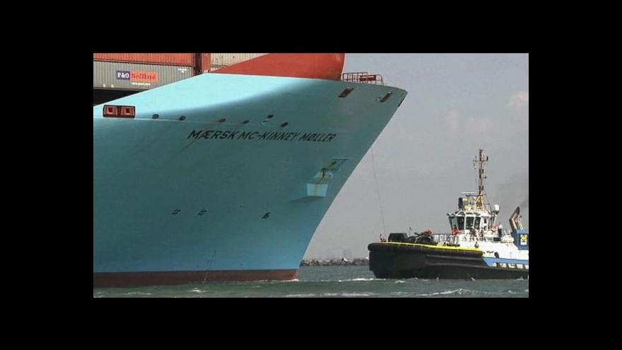Video Horizont: Lodní gigant Maersk McKinney Moller