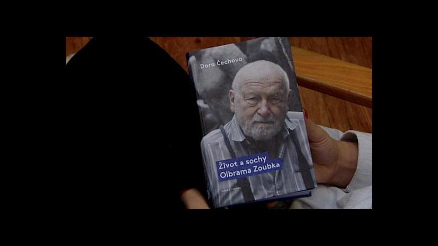 Video Olbram Zoubek vydává knihu