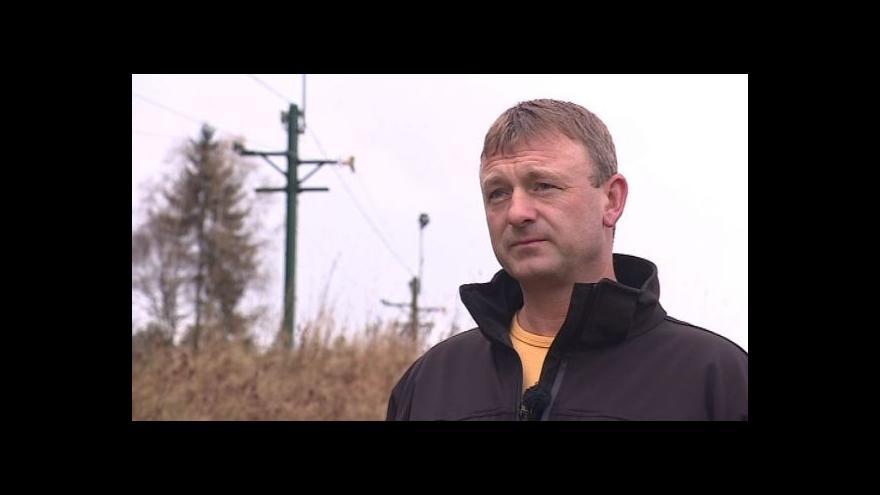 Video Provozovatel vleku Josef Kšice popisuje přípravy na sezónu