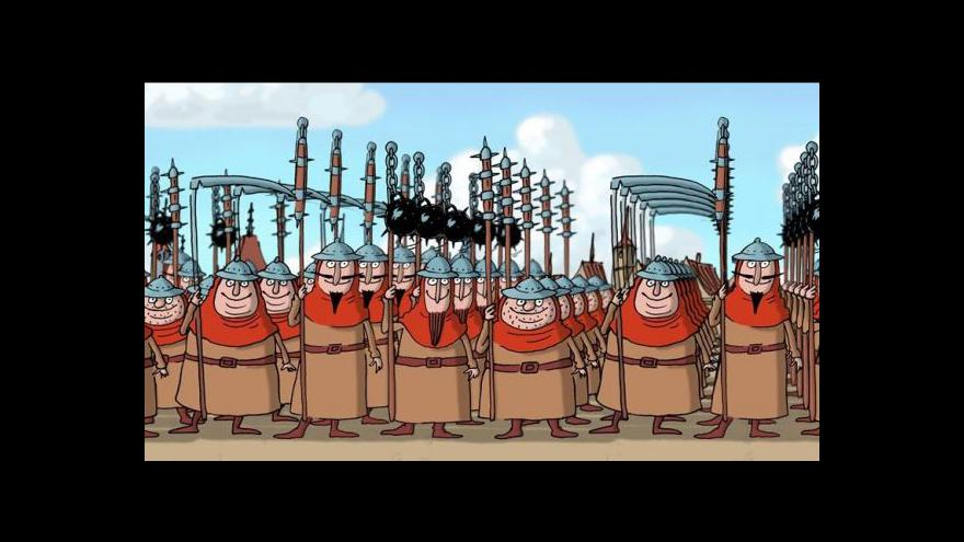 Video Do kin vstupuje animovaný film Husiti