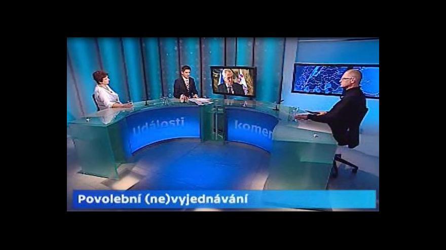 Video Rozkol v sociální demokracii tématem Událostí, komentářů