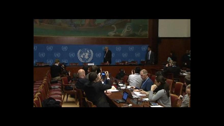 Video Mírová konference o Sýrii nejdříve v prosinci