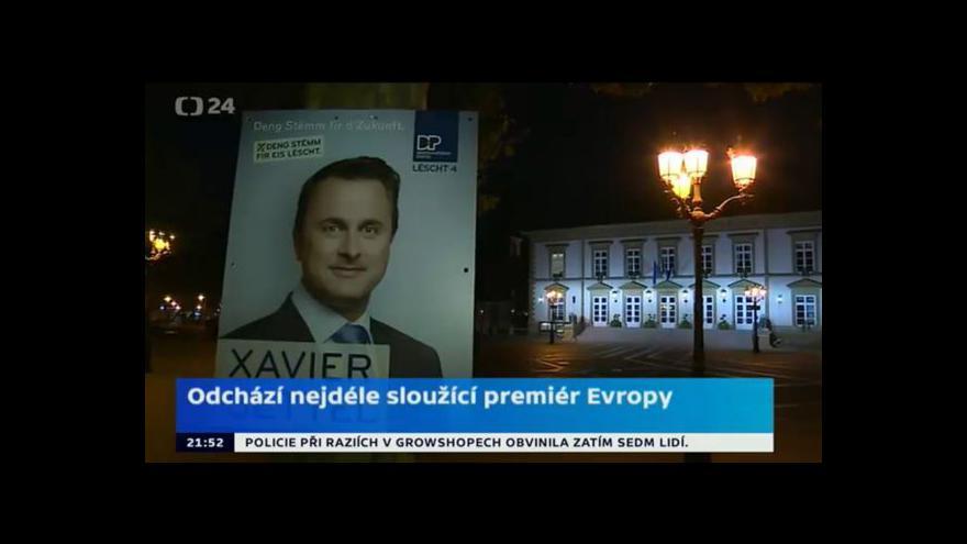 Video Historická změna pro Lucembursko
