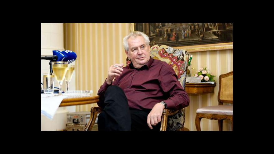 Video Zdravotní stav Miloše Zemana tématem Událostí