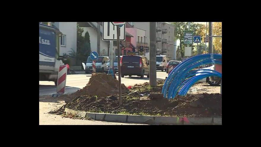 Video No comment: Oprava chodníků v Břeclavi