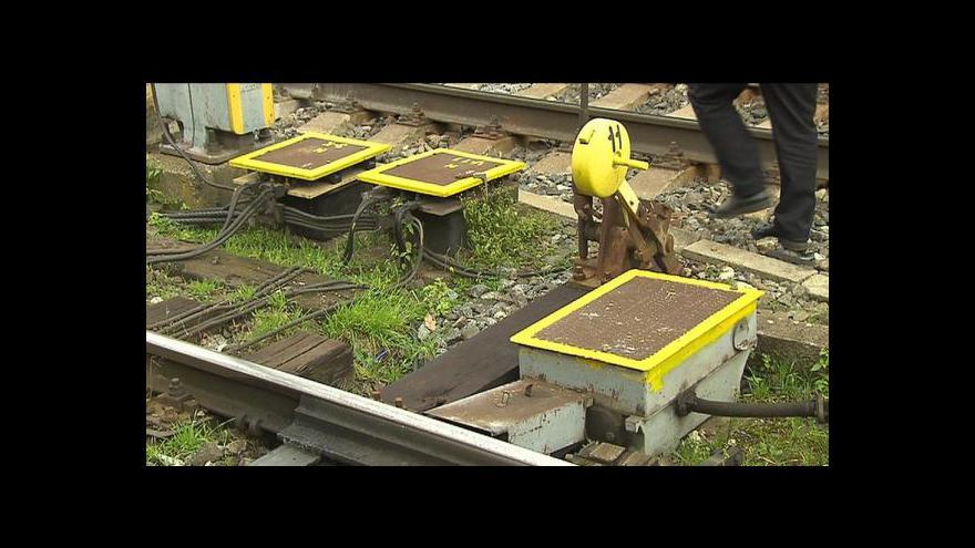 Video Krádeže kovů ohrožují železniční dopravu
