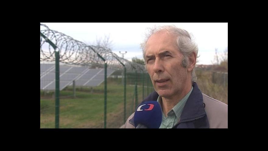 Video Starosta František Kolář o solární elektrárně