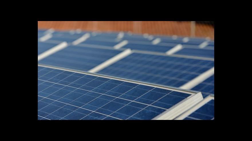 Video Téma solárních elektráren v UvR