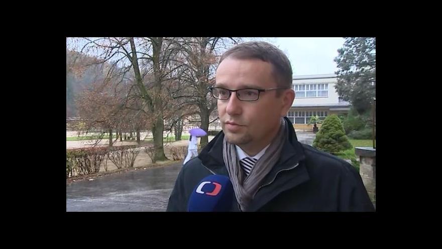 Video Ředitel Lázní Luhačovice Eduard Bláha o obnově parku